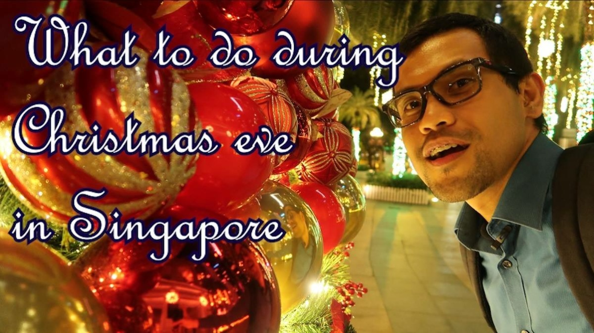 this is my simple tips to some of our kababayans who are still undecided on where to spend their christmas eve in singapore similarly to some of our